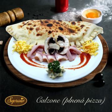 Náhľad 20 - Pizza CALZONE (plnená pizza)