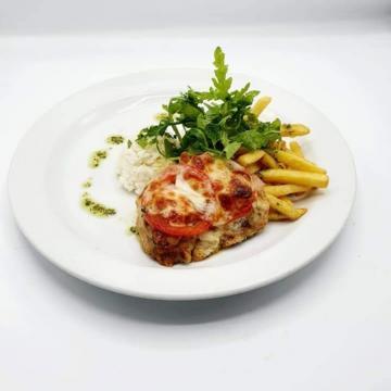 Náhľad 150g Zapekané morčacie prsia s mozzarellou