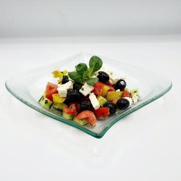 Náhľad Grécky šalát s feta syrom a olivami